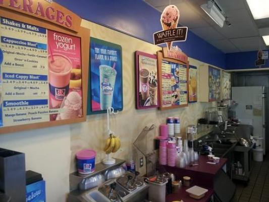 Pico Rivera Baskin Robbins Ice Cream Franchise In Food Court Companies For Sale