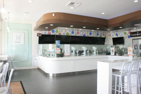 South Orange County Area Creamistry Franchise Ice Cream Shop For Sale
