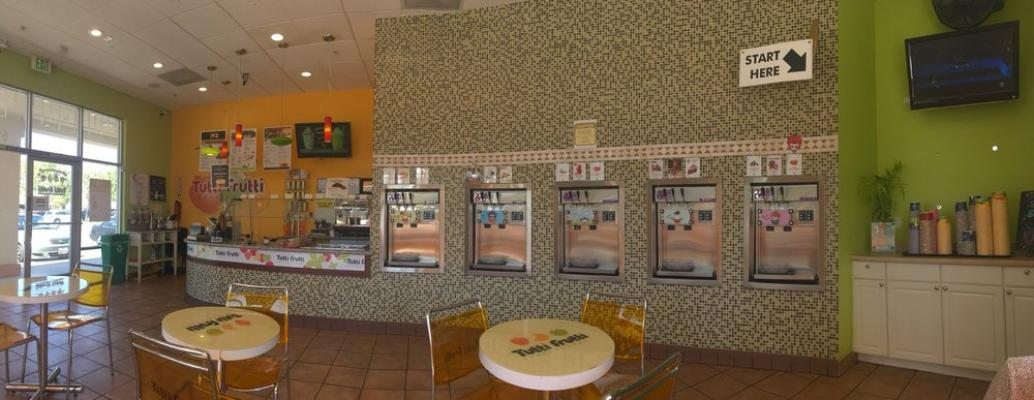 Newark, Alameda County Busy Self-Serve Frozen Yogurt And Ice Cream Shop For Sale