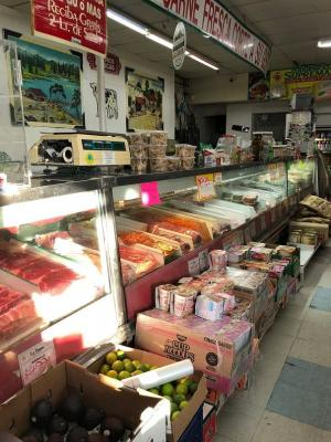 Los Angeles County Area Hispanic Market - Meat And Produce - Busy Shop For Sale