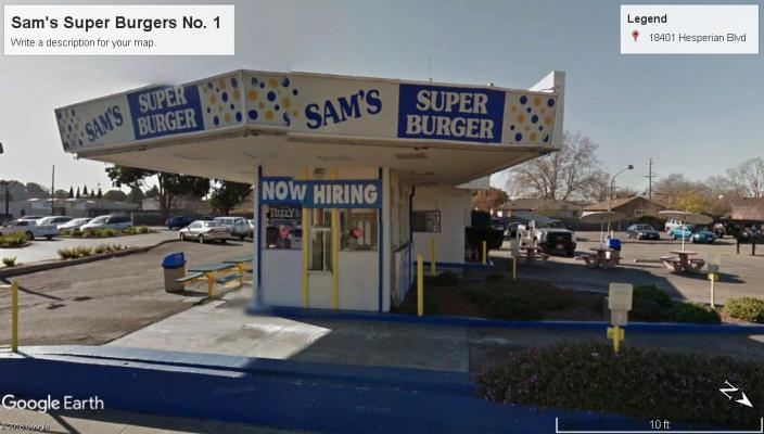 San Lorenzo, Alameda County Hamburger Drive Thru Restaurant For Sale
