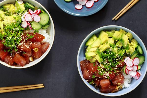 Irvine, Orange County Poke Restaurant - With Hood For Sale