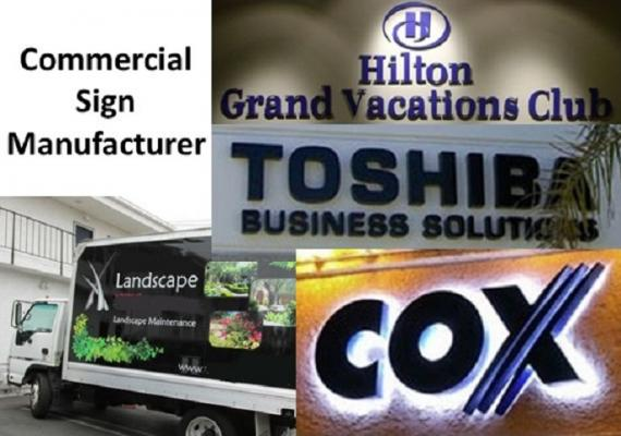 Orange County B2B Commercial Sign Manufacturer For Sale