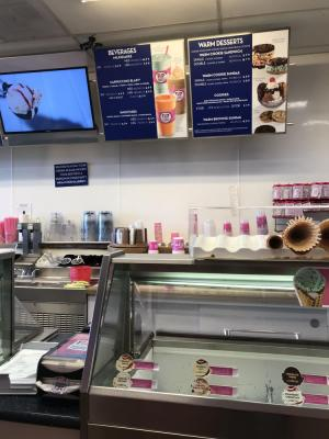 San Mateo County Established Baskin Robbins Ice Cream Store For Sale
