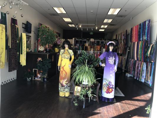 San Jose, Santa Clara County Vietnamese Fabric Collections Store For Sale