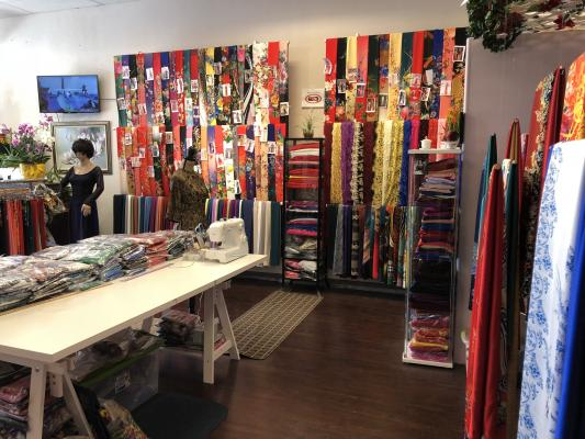 Vietnamese Fabric Collections Store Business For Sale