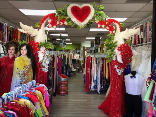 Bridal And Fabric Shop Business For Sale