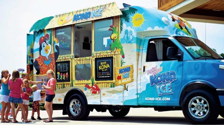 Monterey Peninsula Niche Food Truck Franchise - Shaved Ice For Sale