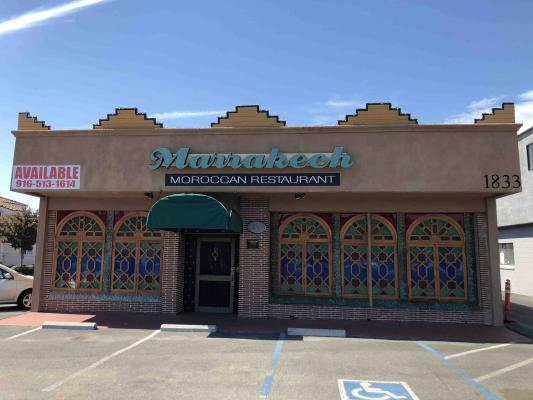 Sacramento  Moroccan Restaurant For Sale