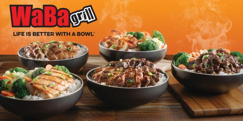 San Bernardino County WaBa Grill - 4 Locations, Absentee Run For Sale