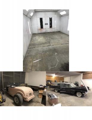 Los Angeles County Auto Body Shop, Restoration Service For Sale