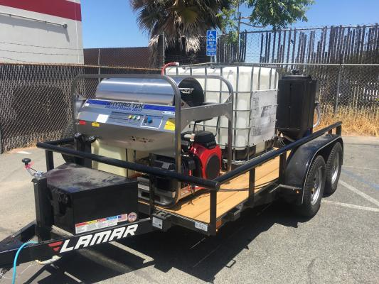 San Francisco Bay Area Dustless Blasting And Pressure Wash Company For Sale