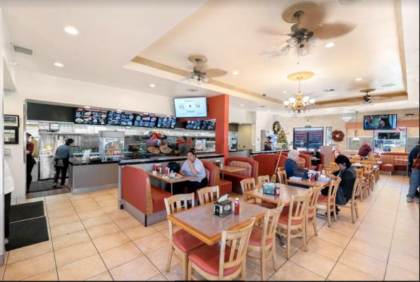 American Diner Hamburger Restaurant - Profitable Business For Sale