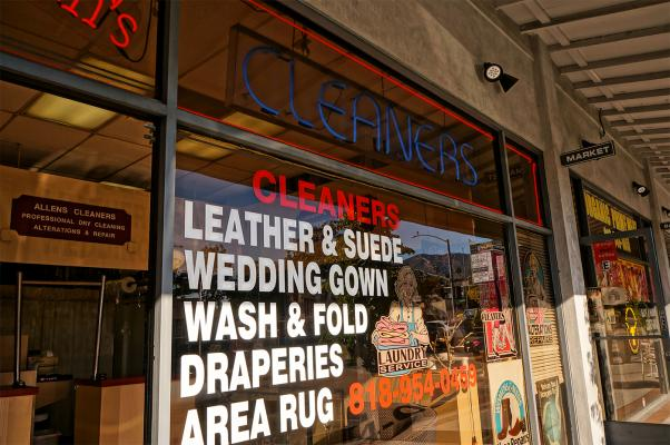 Burbank, LA County Dry Cleaning And Laundry Service For Sale