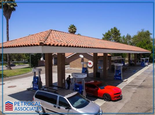 Gas Station Convenience Store Car Wash With Land Business For Sale