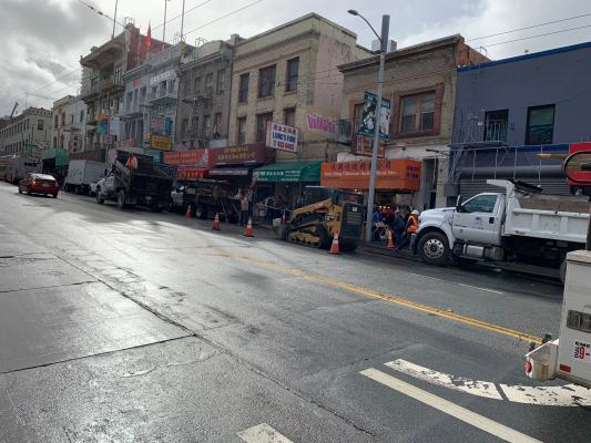 San Francisco, Chinatown Supermarket For Sale
