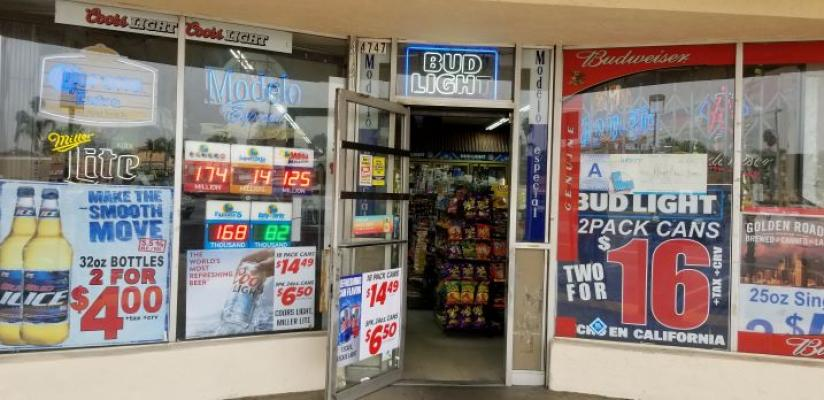 Inland Empire Area Liquor Store And Check Cashing Service For Sale