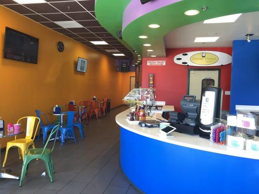 Self Serve Frozen Yogurt Shop - Absentee Run Business For Sale