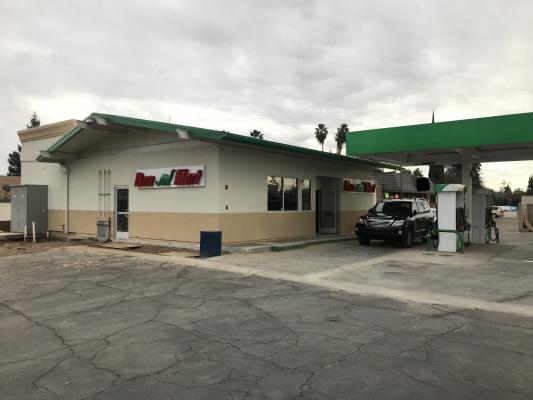 Fresno Gas Station And Convenience Store With Real Estate For Sale