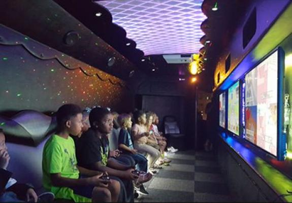 family fun center nickel arcade business opportunity for sale, losmobile gaming service business for sale