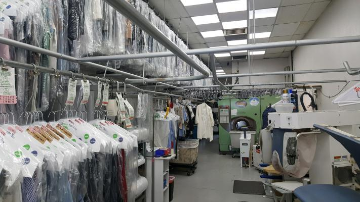 San Diego - Northern Area Dry Cleaner & Plant - Fully Equipped Business For Sale
