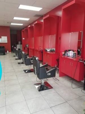 Riverside County  Hair Salon - 5 Stations, Very Busy Location For Sale