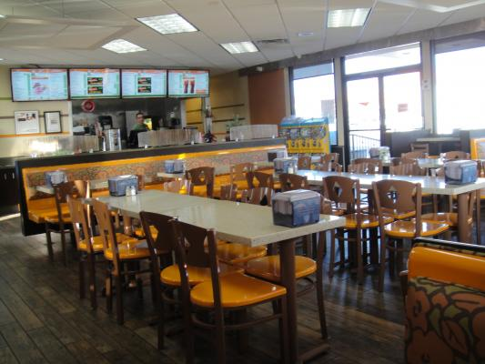 Hamburger Restaurant With Drive-Thru Business For Sale