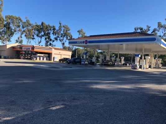 Laguna Beach, Orange County Arco AMPM Gas Station Business For Sale