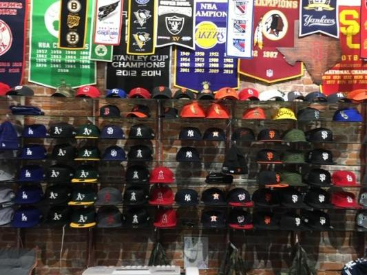 San Luis Obispo Area Licensed Team Fan Shop And Record Store All In One For Sale