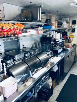 Sacramento County Cafe Restaurant - Outside Kitchen For Sale
