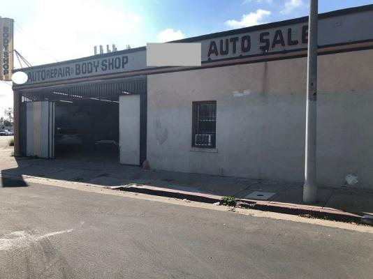 Los Angeles  Auto Body Shop For Sale