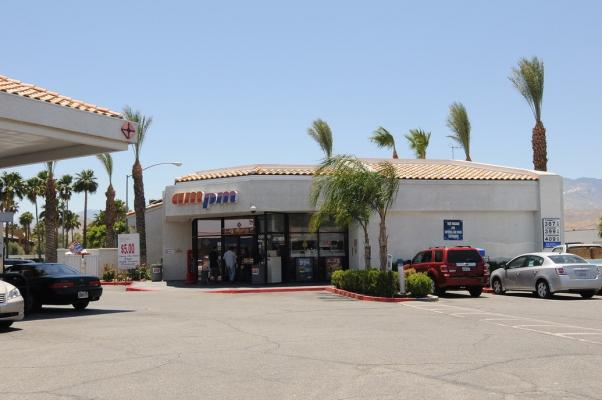 Palm Springs  Gas Station With Convenience Store For Sale