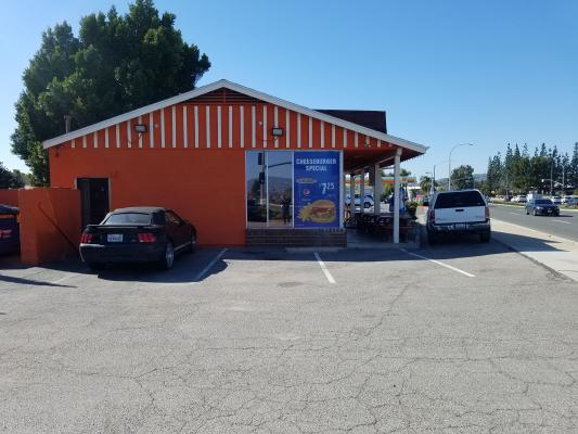 Orange County Fast Food Hamburger Restaurant For Sale