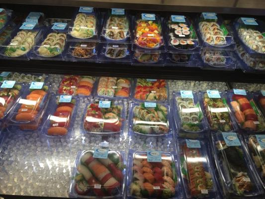 Los Angeles Sushi Shop - In Ralphs Market For Sale