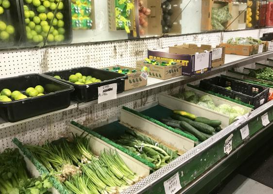 Los Angeles Grocery Market - Asset Sale For Sale