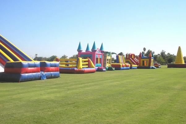 Bakersfield, Kern County  Inflatable Party Rental Service Companies For Sale