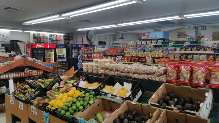 Riverside  Market With Meat Department For Sale