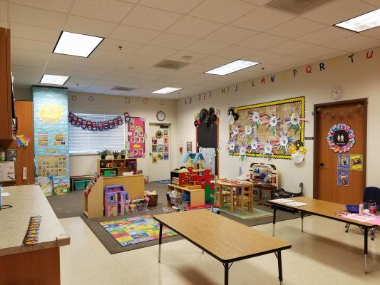 Fresno County Private Preschool - With Real Estate For Sale