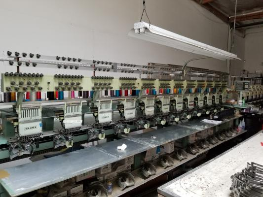 Tustin, Orange County Embroidery Wholesale Company For Sale