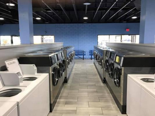 San Jose, Santa Clara County Coin Laundromat - Fully Remodeled Location For Sale