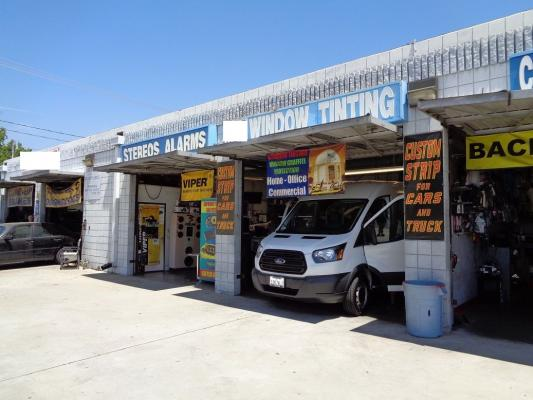 Burbank, Los Angeles County  Auto Sound And Tinting Business For Sale