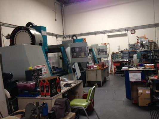 Alameda County Precision Machine Shop For Sale