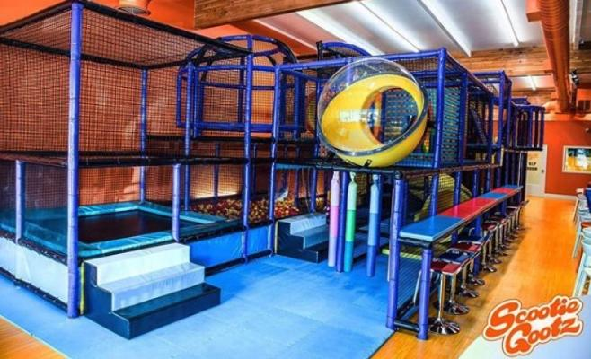 Woodland Hills, LA County Kids Indoor Playground Facility Business For Sale