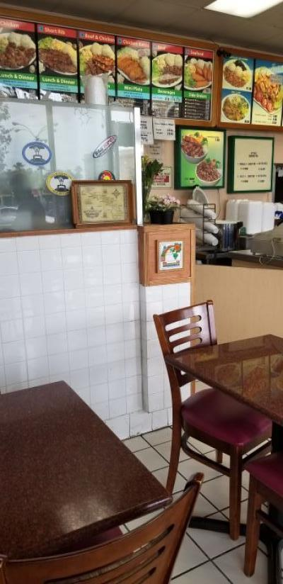 Los Angeles County  Hawaiian BBQ Fast Food Restaurant Business For Sale