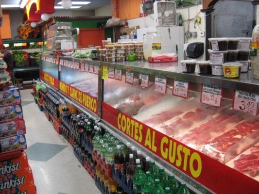 Long Beach, Los Angeles County Hispanic Market - Meat, Produce, Popular Chain For Sale