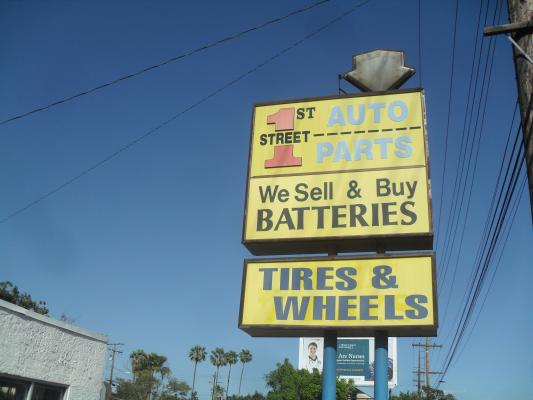 Auto Parts And Tires, Wheels Shop Company For Sale