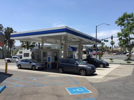 Poway, San Diego Arco Gas Station With AMPM Convenience Store For Sale