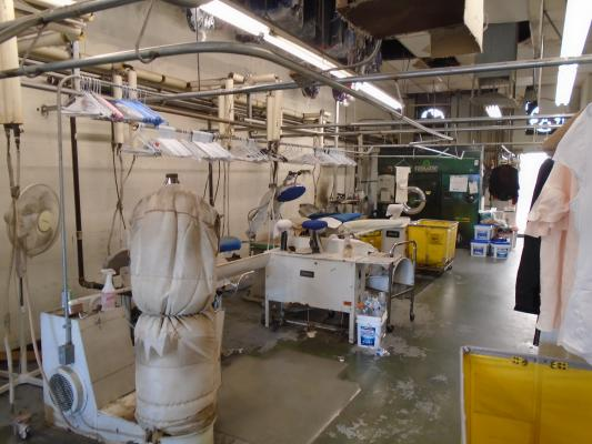Dry Cleaners Plant - Fully Equipped Business For Sale