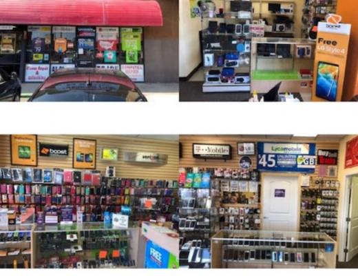 Los Angeles County Cellular Phone Accessories Shop For Sale