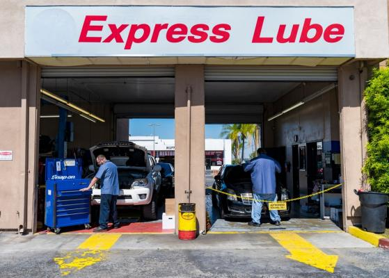 Auto Repair, Express Lube Drive Thru, Oil Change Business For Sale